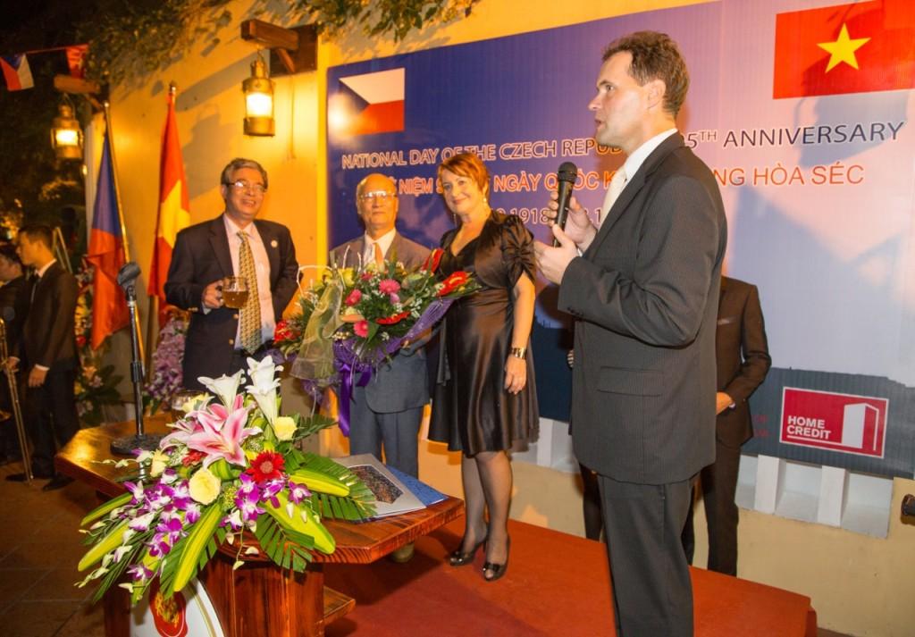 Hovori velvyslanec ČR Martin Klepetko