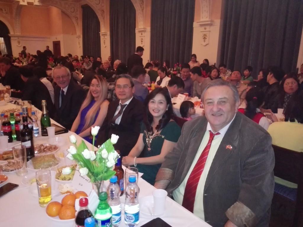 Předseda ČVS Marcel Winter na oslavě Nového Lunárního roku 2015 v Chomutově