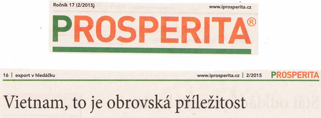 Časopis PROSPERITA 2 2015