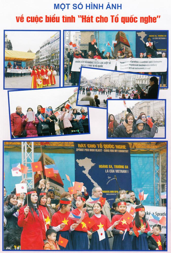 Protičínská demonstrace Xaxu
