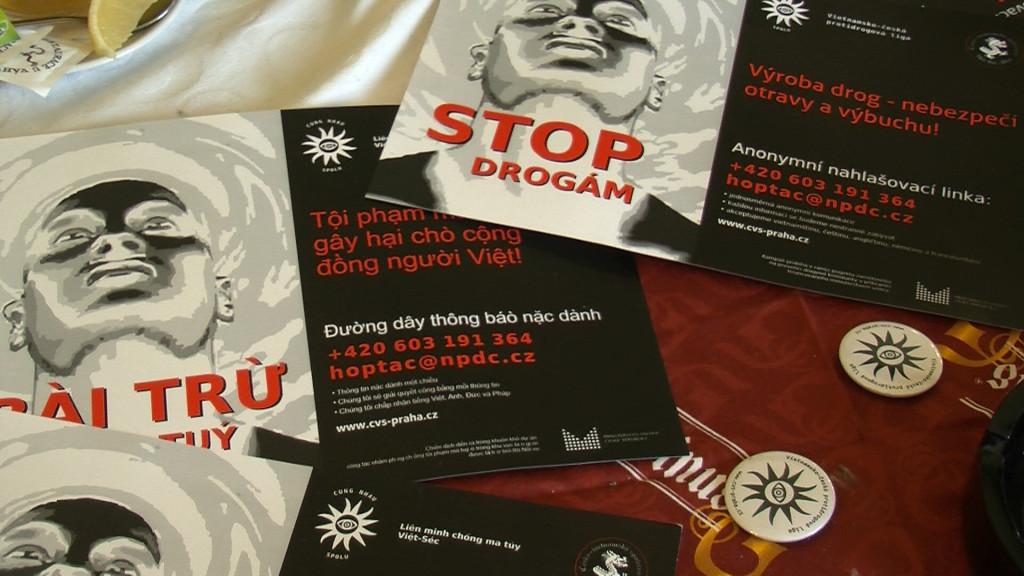 Materiály akce Česko-vietnamské společnosti STOP DROGÁM