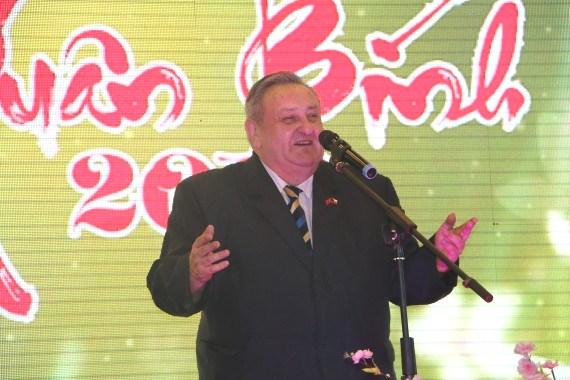 5.2.2016 na oslavě Lunárního roku 2016 ve VOC Sapa přednesl pozdravný projev předseda ČVS Marcel Winter