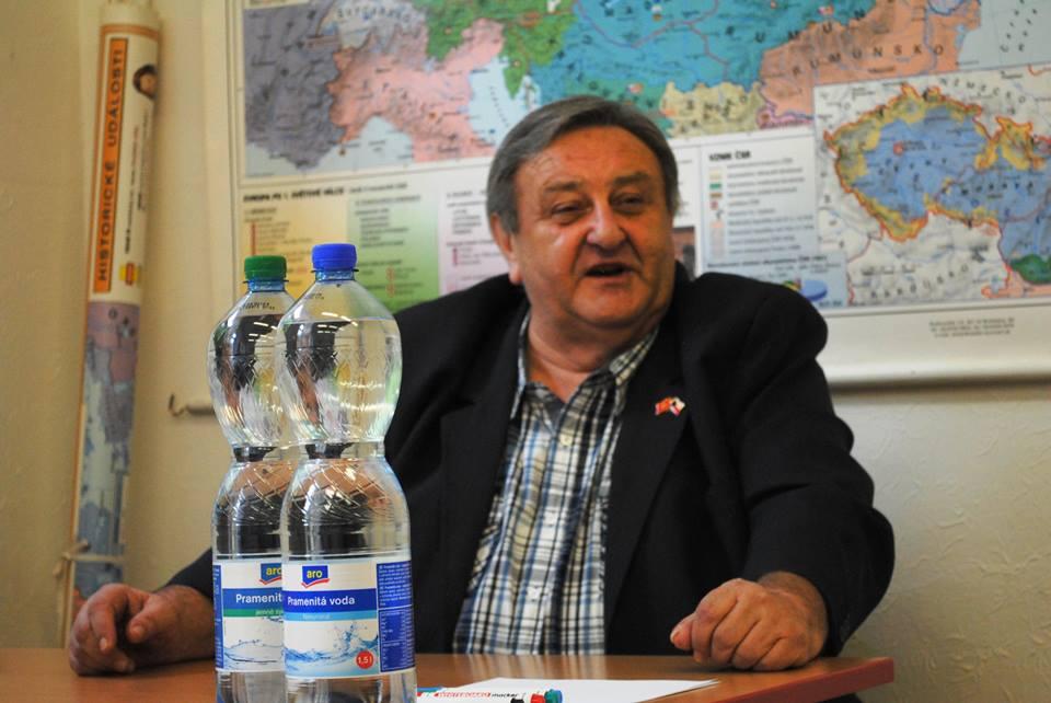 Předseda ČVS Marcel Winter přednáší 19.4. na Diplomatickém fóru na ŠVMV v Praze