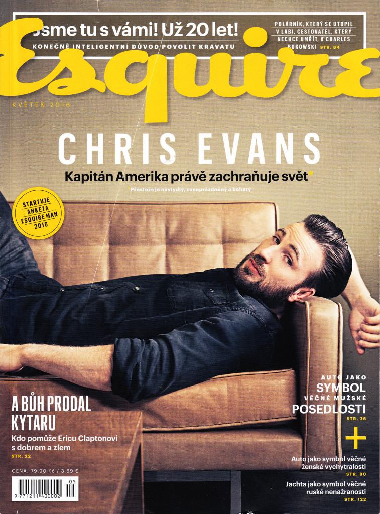 Časopis ESQUIRE č. 5,  Květen 2016